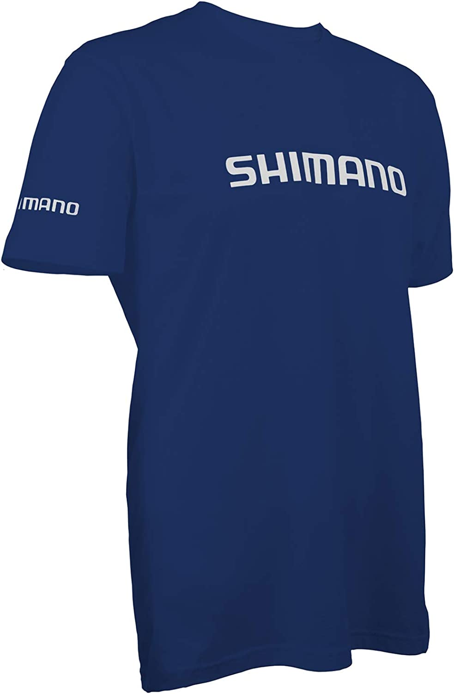 SHIMANO Camiseta de Manga Corta de algod/ón para Pesca