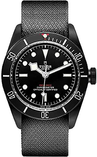 Tudor Patrimonio Negro Bahía Oscuro 79230dk Hombres del Reloj