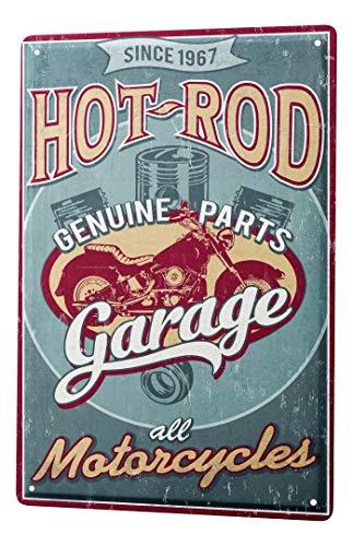 LEotiE SINCE 2004 Plaque en Métal Métallique Poster Mural tin Sign Vintage Car Hot Rod