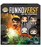 Funko- Black Mag Funkoverse (4 unidades) English Board Game, 43476, multicolor, Versión francesa