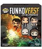 Funko- Black Mag Funkoverse (4 unidades) English Board Game, 43476, multicolor, Versión francesa...