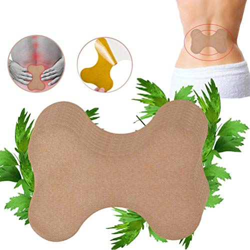 Lespar 12pcs Wermut Schmerzlinderung Patch,Pain Relief Patch,Schmerzlinderung für Nacken und Schulter,Wärmepflaster,Muskelgelenke Entspannung Wermut Patche