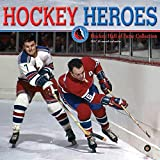 Hockey Heroes 2021 12 x 12 Inch Monthly Square Wall Calendar by Wyman Publishing, Sport Celebrity