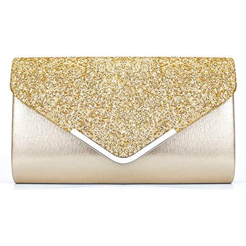 BelleVue Pochette Enveloppe Sac de Soirée Mariage en...