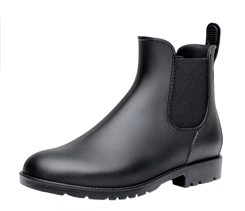 Enteriza レインブーツ ショート サイドゴア レディース メンズ 男女兼用 雨具 雨靴