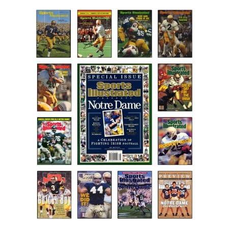 Notre Dame Fighting Irish Quarterback IAN Book 19x13 Commemorative Poster