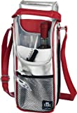 Alfi Be Cool Cool Bag - Bottle Bag Silver/Red 2 litres