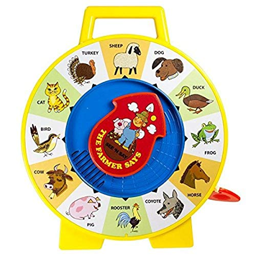 Basic Fun Fisher Price Classic Toys - The Farmer Says See 'N Say - Great Pre-School Gift for Girls and Boys, multi