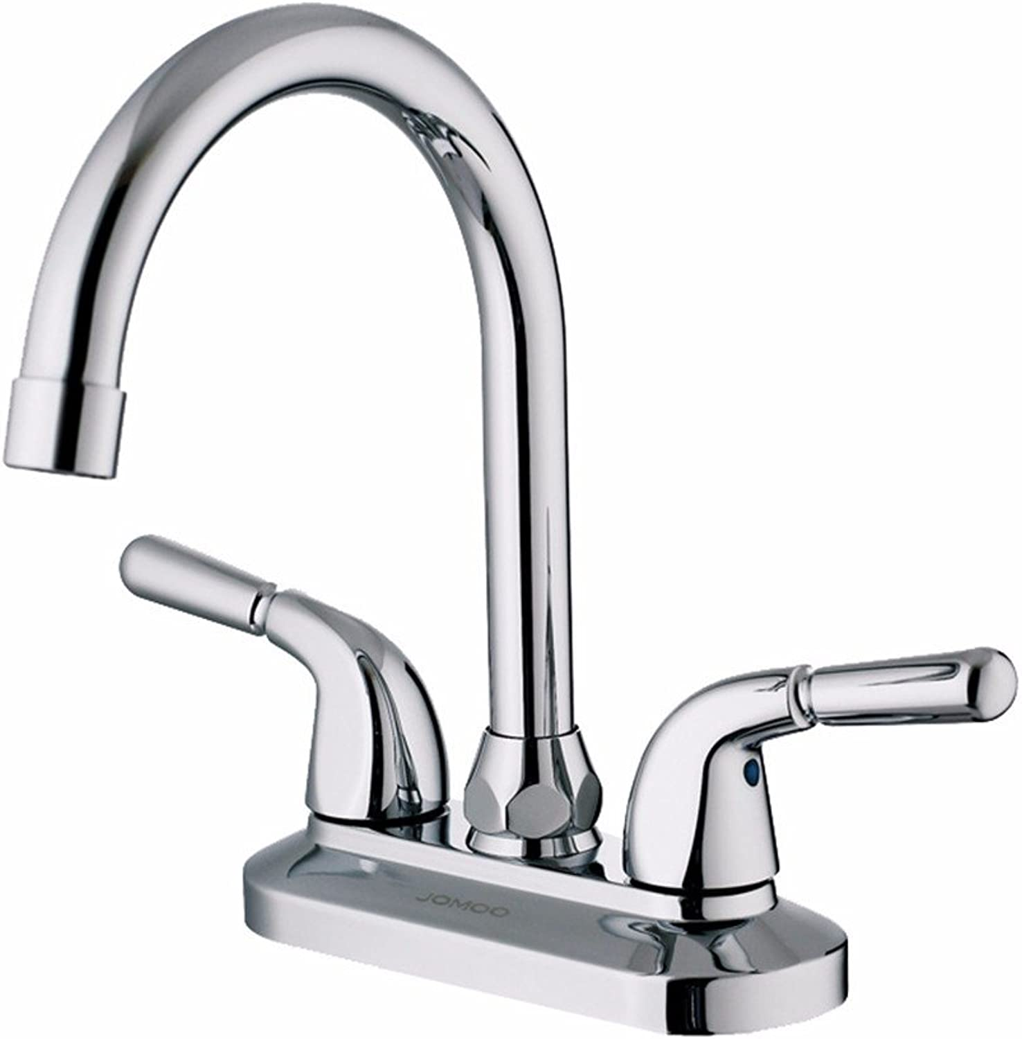 SHLONG Tap ?Double Handle Double Basin Top Basin Faucet Basin Hot and Cold Water Faucet
