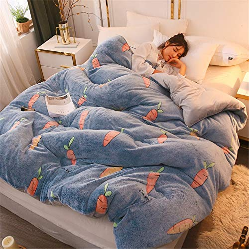 Buy Liweibao-Home Quilt Double-Sided Warmth Core Cute Little Fresh Single and Double Quilt Bedding B...