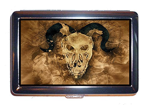 ETUI schrecklichen Tod schädel dämonen Halloween - Horror - Design (Zigaretten)