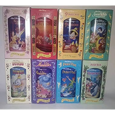 Set of 11 - Burger King Walt Disney Classic Collector Series Plastic Tumblers