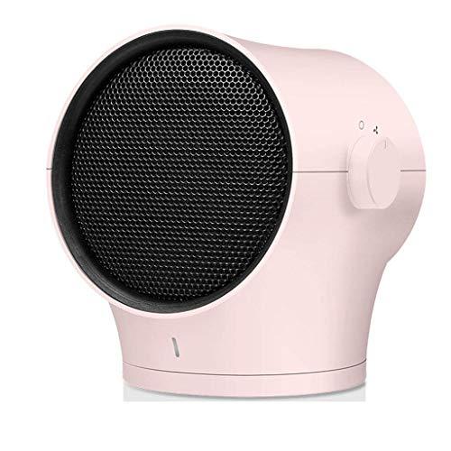 MIEMIE Calentador portátil Calentador de Ventilador Calentador de Ventilador Descarga de Tres Segundos Protección de energía de Calentamiento rápido para el hogar y la Oficina (Color: A)