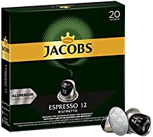 Jacobs Kaffeekapseln Lungo Intenso, Intensität 8 von 12, 200 Nespresso®* kompatible Kapseln, 10 x 20 Getränke