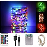 Libeder 33-Feet 100-LED Fairy String Light with Remote