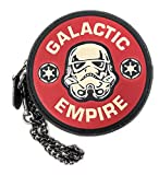 Star Wars X Coach Round Coin Case Pouch Wallet with Galactic Empire