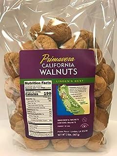 Primavera, California Premium In-Shell Jumbo Walnuts, 2 Pound Bag
