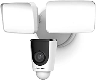 Amcrest Floodlight Camera, Smart Home 1080P Security Outdoor Camera Wireless WiFi with Flood...