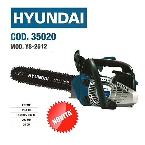 Motosierra de poda Hyundai Cód. 35020 2 tiempos 25,4 cc 1,2
