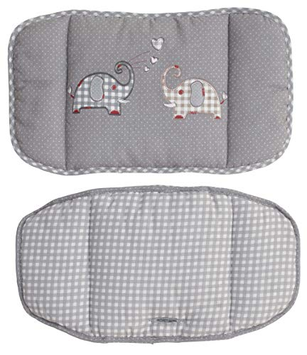 Roba 1852 V145 Disegno Elefante Sedile per Seggioloni, 2 Pezzi