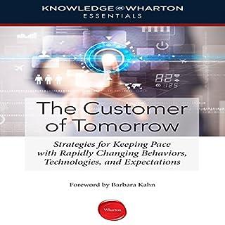 The Customer of Tomorrow audiobook cover art