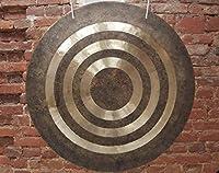 "28"" (70 cm) Tibetan Wind Gong Hand forged Bronze alloy Great sound ゴング"