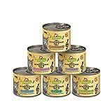 GranataPet Symphonie Multipack, Katzenfutter ohne Getreide & Zuckerzusätze, Filet in natürlichem Gelee, delikates Nassfutter für Katzen, 6 x 200 g