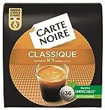 Carte Noire Classique N°5, Café en Dosette Compostables Compatibles Senseo, 10 Paquets de 36 dosettes souples (360 dosettes)
