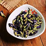 Tè alle erbe cinesi Farfalla blu Tè ai piselli 100 g (0,22 LB) Nuovo tè profumato Tè verde Sanità Fiori tè Grado superiore Cibo verde salutare