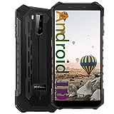 Ulefone Armor X5 Pro (2020), 4G IP68 Impermeable Smartphone, Moviles Resistentes con Modo Submarino, Android 10 Dual SIM, 4GB 64GB, 5000mAh Batería, Desbloqueo Facial GPS, Negro