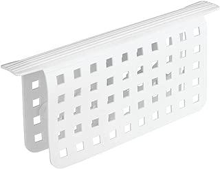 iDesign Euro Kitchen Sink Divider Protector Mat - White