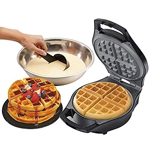 J-Jati Waffle Maker Belgian Waffle Maker Machine Belgian Waffle Maker for Individual Waffles, Paninis, Hash browns, other on the go Breakfast, Lunch, or Snack White SW228-W