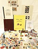Briefmarkenset 'Kinder' als Geschenk, Überraschungspaket, Briefmarken für Anfänger, Pinzette,...