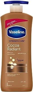 Vaseline Intensive Care Cocoa Radiant Body Lotion, 400ml