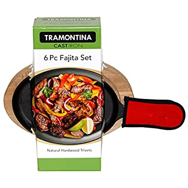 Tramontina 6 Piece Fajita Pan Set