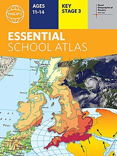 Philip's RGS Essential School Atlas (Philip's World Atlas)