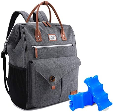 Lekesky Cooler Backpack 24 30Can Insulated Leakproof Lightweight with 2 Ice Packs for Men Women product image
