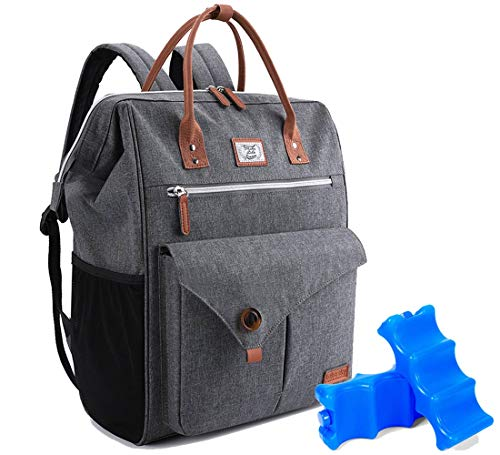 Lekesky Cooler Backpack 24 30Can Insulated Leakproof Lightweight with 2 Ice Packs for Men Women Outdoor Picnics, Camping, Hiking, Beach, Travel, Park or Day Trips