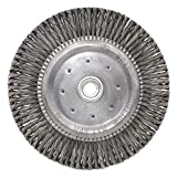 Shark 13986 7-Inch by 5/8-11NC Stringer Bead Twist Wire Wheel with 0.020-Gauge Steel
