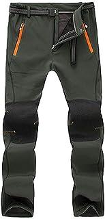comprar comparacion VPASS Pantalones para Hombre,Pantalones de Trekking Softshell Pantalones Impermeables Resistente Pantalones de Escalada Tr...