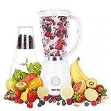 Duronic BL4 Batidora de Vaso Americana para Frutas y Verduras, Molino de Café y Molino para Especias, Tritura Café y Semillas