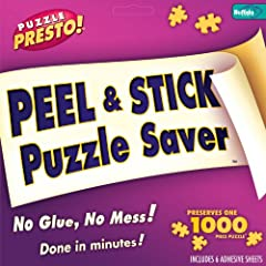 THE ORIGINAL PUZZLE SAVER – Made in the USA Since 2007 by Premium Puzzle Manufacturer, Buffalo Games. This is a Product Made by Puzzle Enthusiasts for Puzzle Enthusiasts. PERMANENTLY PRESERVE YOUR PUZZLE IN ITS ORIGINAL PRISTINE FINISH – Quick and Ea...