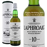 Personalised Laphroaig 10 Year Old