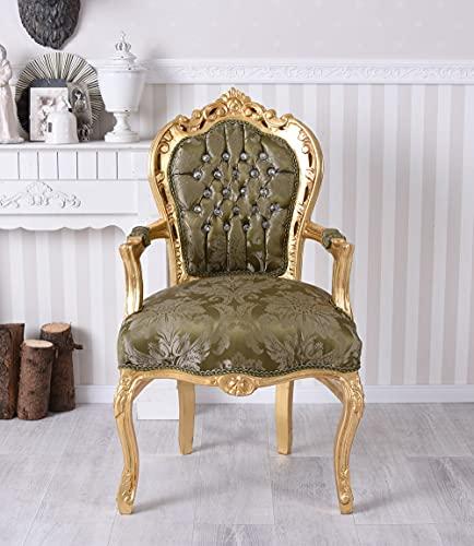 Königlicher Thron Sessel Gold cat535a04 Palazzo Exklusiv