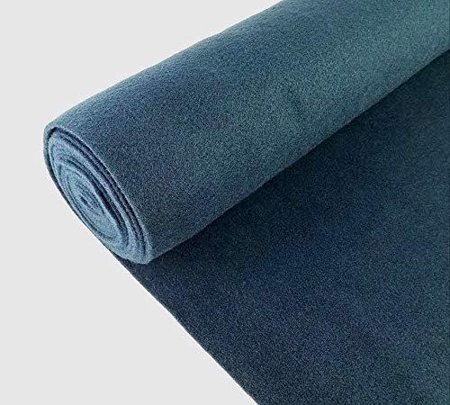 5 Yards Dark Blue Upholstery Durable Un-Backed Automotive Trim Carpet 40