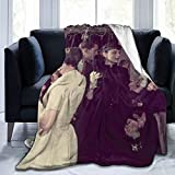 Cartoon Soft Throw Blanket,Stylish Warm Throws For Bedding, Couch and Plush House Warming Decor Gift Idea ( 50'x40') Men and Women, Old and Young Anime