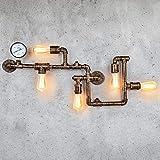 EDISLIVE Industriale Lampade da parete Illuminazioni per pareti Vintage Lampada adatta App...