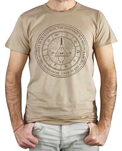 PLANETACAMISETA Camiseta Hombre - Unisex Gravity Falls