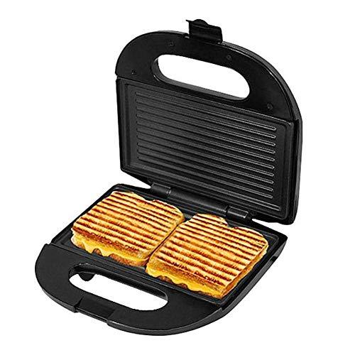 Sandwich Toaster Antihaft-Edelstahl-Röster Sandwich Maker Frühstück Sandwich Press Electric Breakfast Machine