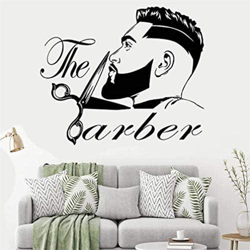 Barber shop decals